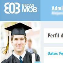 Solution: expert web l graduate community<br /> Client:&nbsp; Becas MOB<br /> Campaign: graduates<br /> Location: Guadalajara, Jalisco l 2012