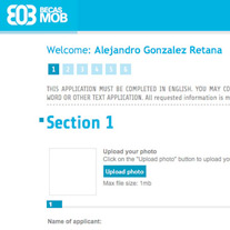Solution: expert web l online application<br /> Client:&nbsp; Becas MOB<br /> Location: Guadalajara, Jalisco l 2012